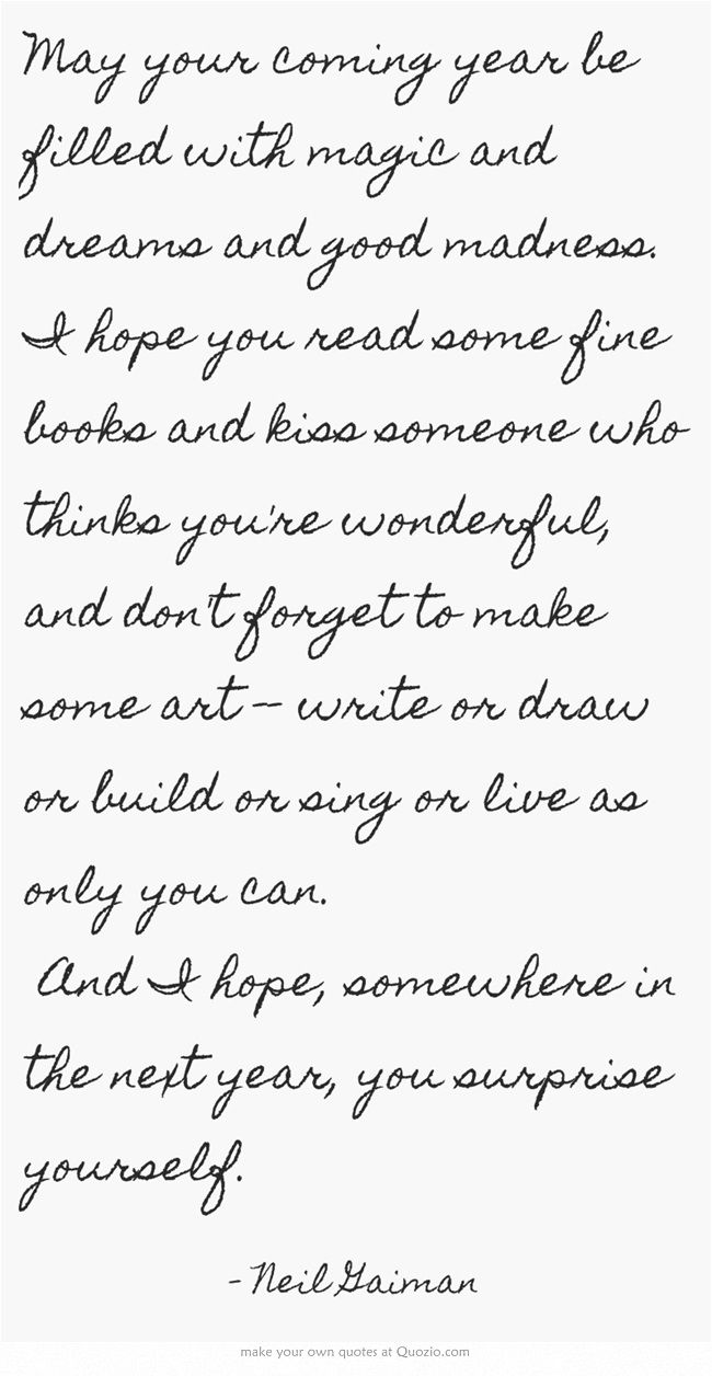 Happy New Year Letter 94